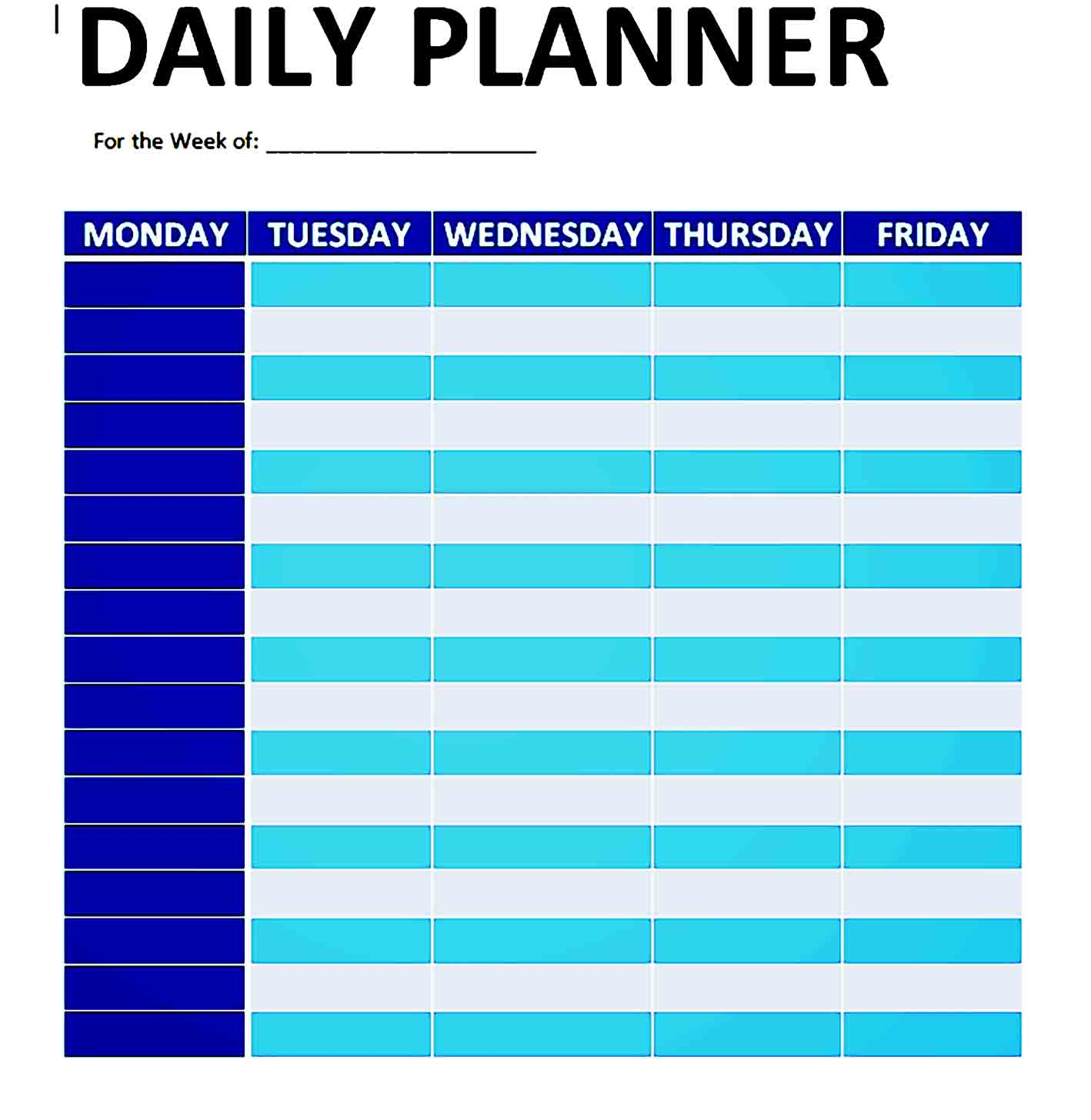 daily planner template 21
