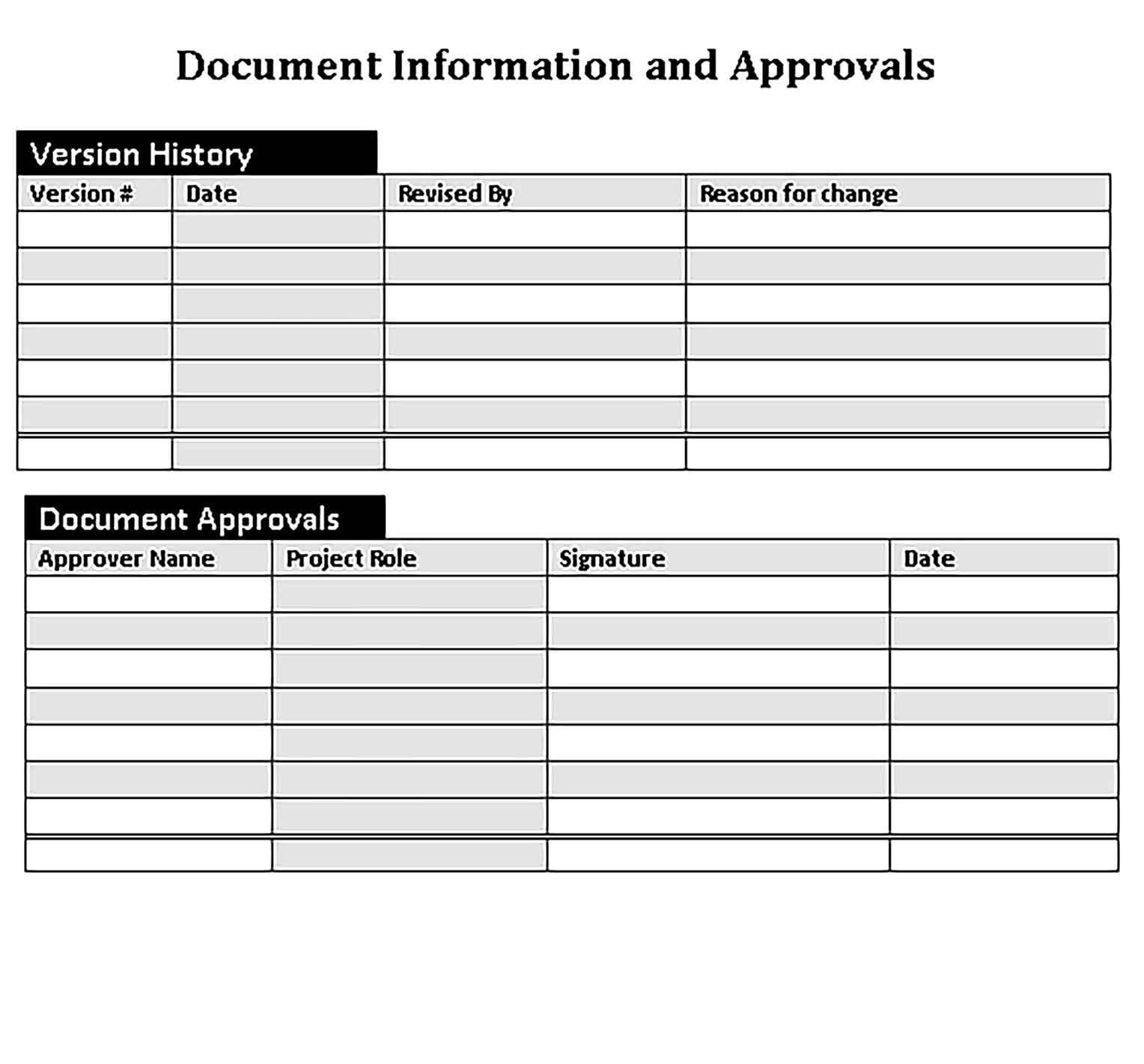 Template Workout Training Schedule in Word Doc Sample