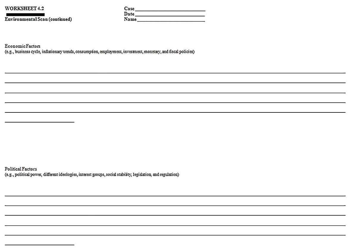 Templates for Industry Competitive Situation Analysis 2 Sample 1